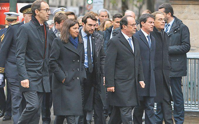 The memorial one year on, led by François Hollande - WENN.com
