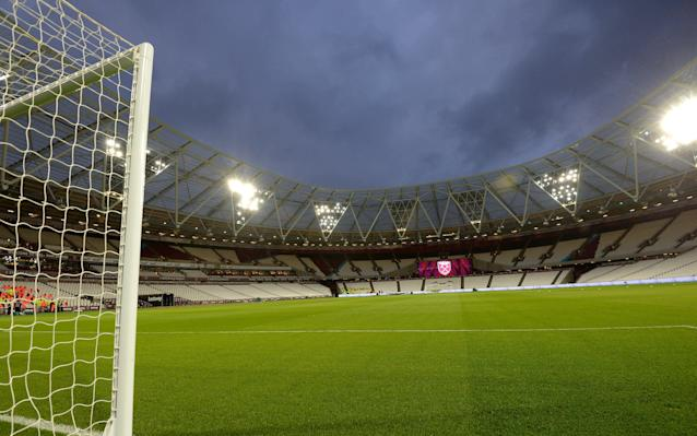 West Ham United currently occupy the Olympic Stadium in Straford - 2017 West Ham United FC