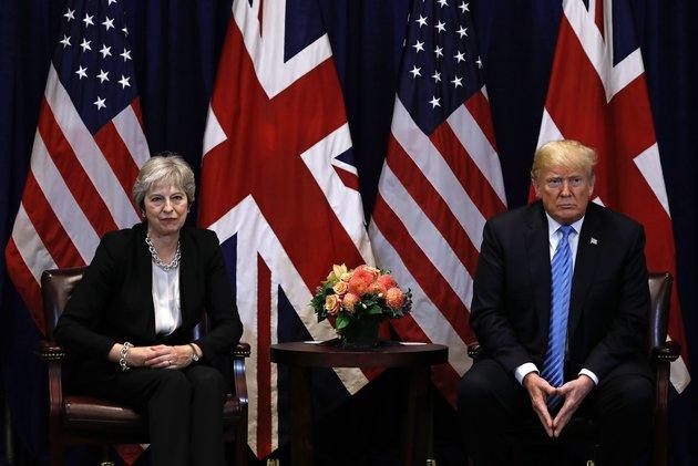 Theresa May did *not* get the reaction she expected when she called Donald Trump