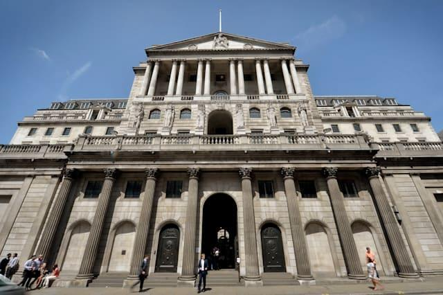 Bank of England documents released