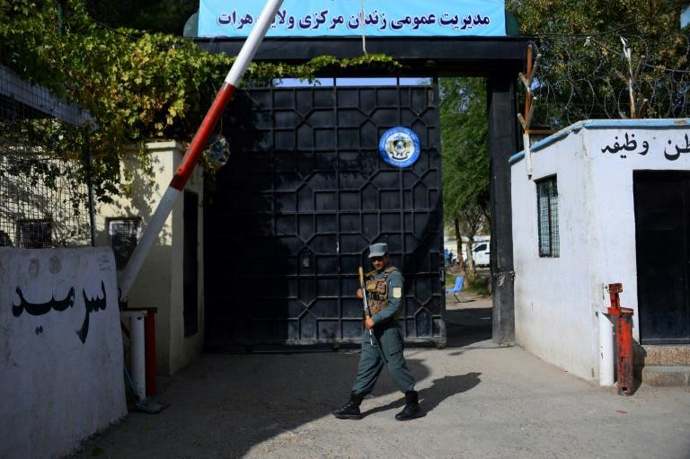 About 2,500 prisoners are being held in Herat jail