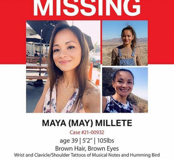 PHOTO: A missing persons poster seeks Maya Millete, a mother-of-three who disappeared from Chula Vista California in January. (    )