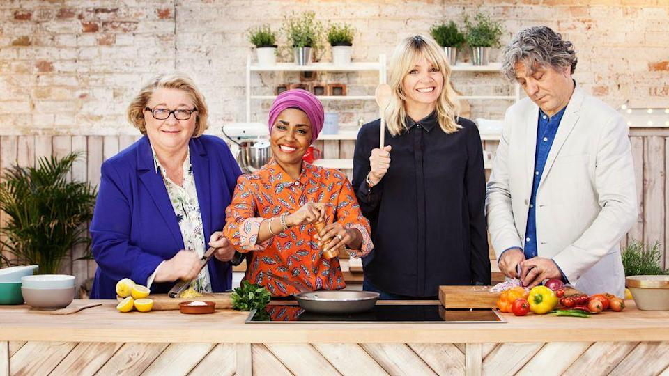 """<p>What's better than cooking together? If you're like me, it's watching <em>other</em> families cook together from the comfort of your own house.</p><p><a class=""""link rapid-noclick-resp"""" href=""""https://www.netflix.com/watch/81007011"""" rel=""""nofollow noopener"""" target=""""_blank"""" data-ylk=""""slk:WATCH NOW"""">WATCH NOW</a></p>"""