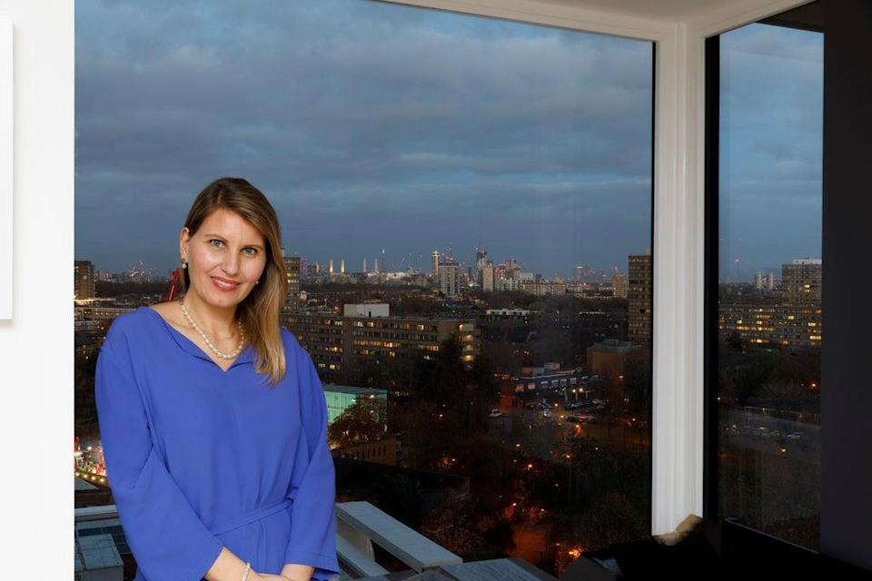 Residents, including Gergana Peeva,  have been smitten by the views and the bold architecture (Grant Frazer)