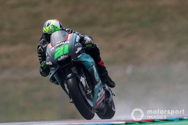 "Franco Morbidelli, Petronas Yamaha SRT <span class=""copyright"">Gold and Goose / LAT Images</span>"