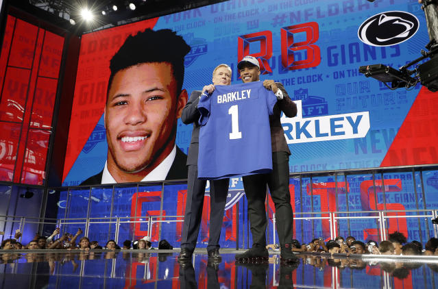 The 2018 NFL draft was a must-watch event. (AP Photo)