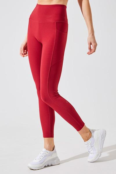 Rival High Waisted Recycled Polyester 7/8 Legging (Photo via MPG)