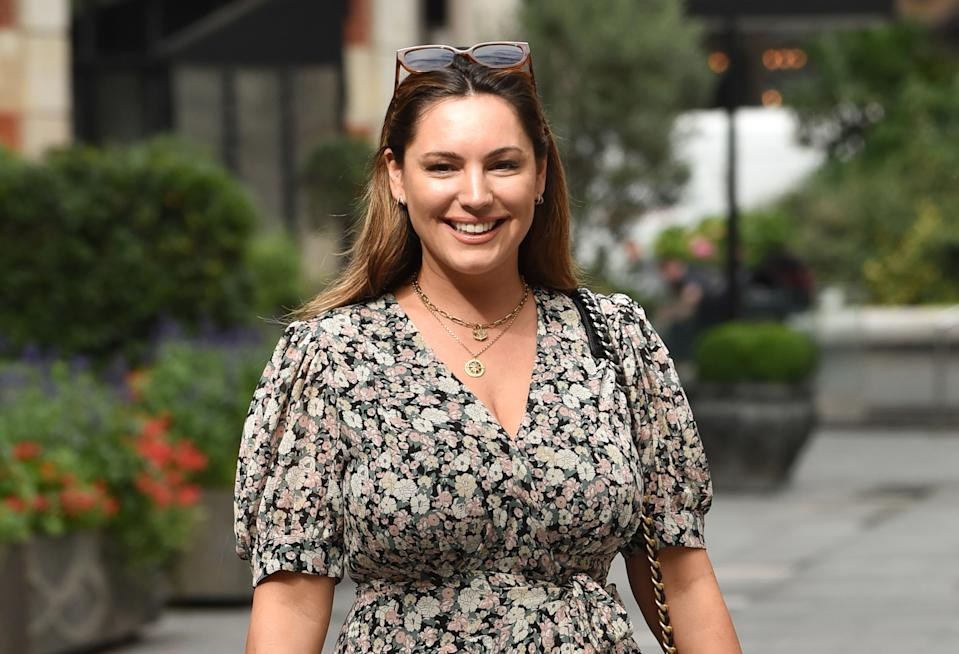 Kelly Brook has said she's happy with the freedom she has. (Photo by James Warren/SOPA Images/LightRocket via Getty Images)