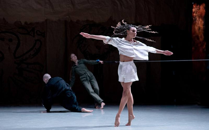 Rambert perform Draw from Within