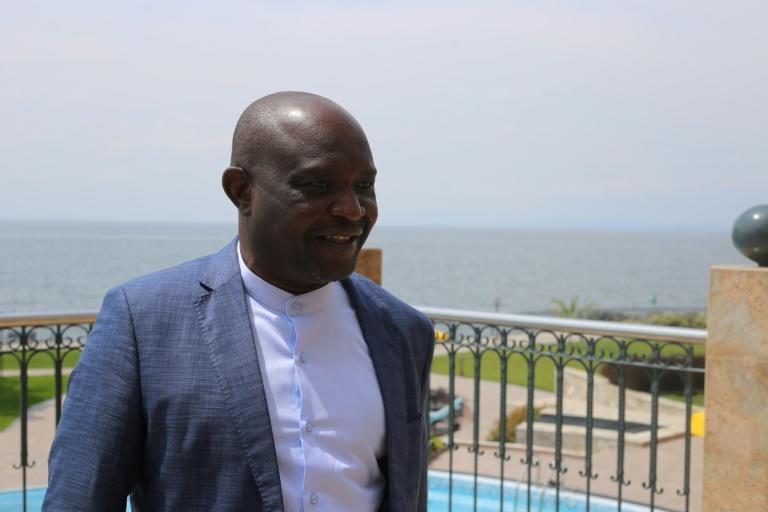 Vanny Bishweka is Goma's most influential businessman and is a key investor in the hotel