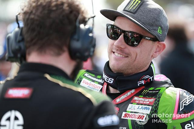 "Alex Lowes, Kawasaki Racing Team <span class=""copyright"">Gold and Goose / Motorsport Images</span>"