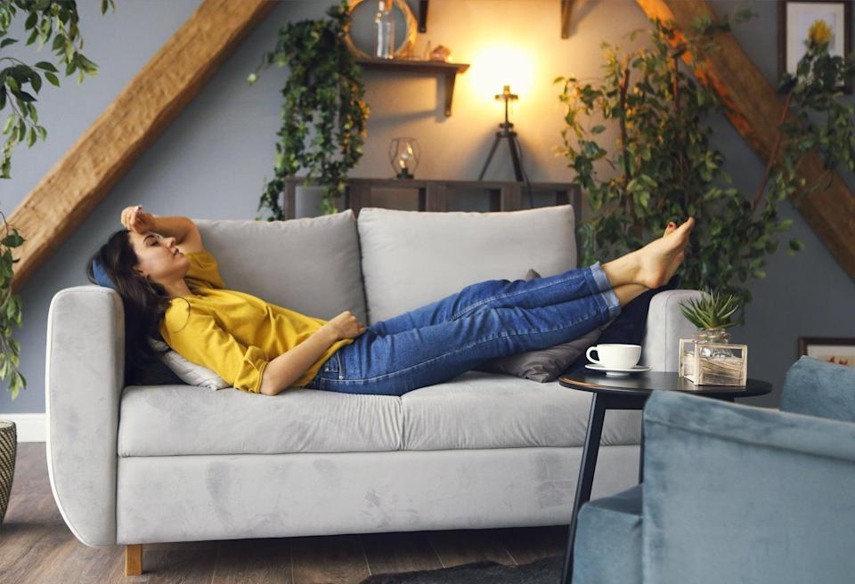 """<p>That brings us to our final piece of advice, which is all about napping. Here's the thing: if you're not getting enough sleep (or you're not sleeping soundly), it's OK to take a nap. But you have to do it the right way. """"A nap should only last around 20 minutes,"""" Dr. Dasgupta said. Why, you ask? Well, sleeping and napping aren't one and the same.</p> <p>You want to fall into the deeper stages of sleep during the night, but when you're napping, you need to remain in the lighter stages to ensure you wake up feeling refreshed instead of tired and sluggish. """"If you nap for an hour, that's not a nap, that's sleep,"""" Dr. Dasgupta explained. """"That's why many people don't feel refreshed after a nap. Twenty minutes guarantees you'll be in those lighter stages of sleep, but it will still be refreshing.""""</p>"""