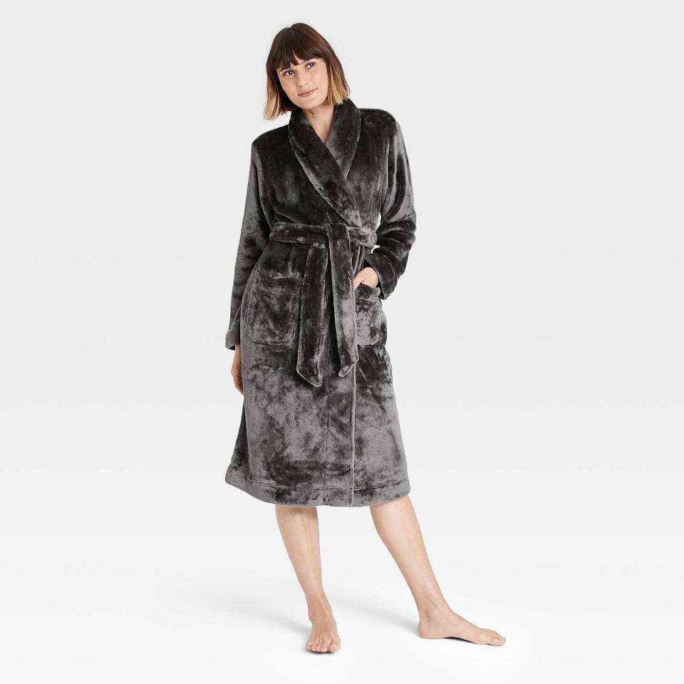 <p>The ultrasoft <span>Stars Above Women's Cozy Plush Robe</span> ($30) will transport them to a swanky upscale spa. It comes in a variety of colors, as well!</p>