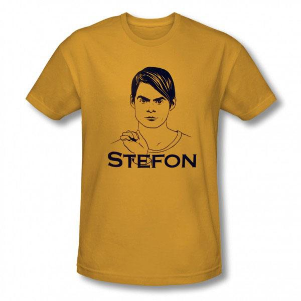"""<b>FASHION<br><br>""""Saturday Night Live"""" Stefon T-Shirt</b><br>Bill Hader has been the best thing about """"SNL"""" for a number of seasons now, and this tee celebrates one of his greatest creations, the endearing weird and wonderful club-going Stefon. It's the perfect thing for a night out at Slice with the Germphs or DJ Baby Bok Choy.  <br><br><a href=""""http://www.nbcuniversalstore.com/detail.php?p=294594&SESSID=237faa0f407c5413c0cd9e5a8155a271"""">NBCUniversalStore.com</a>, $26<br><br><a href=""""http://tv.yahoo.com/news/best-and-worst--saturday-night-live--sketches--jamie-foxx-180720576.html"""">Highlights from the latest 'SNL'</a>"""