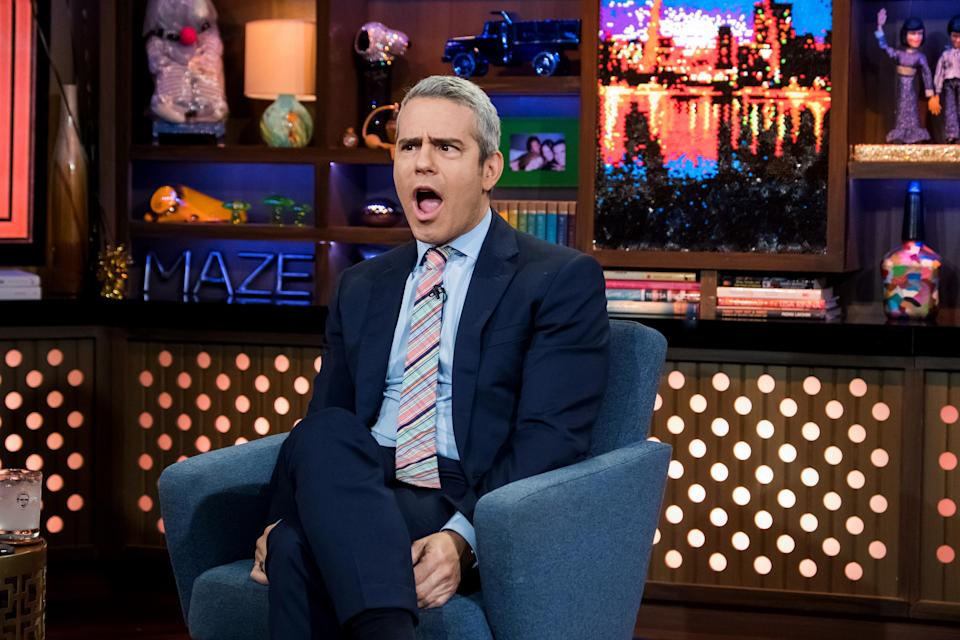Andy Cohen has welcomed a son, who was delivered by a surrogate. (Photo: Charles Sykes/Bravo/NBCU Photo Bank)