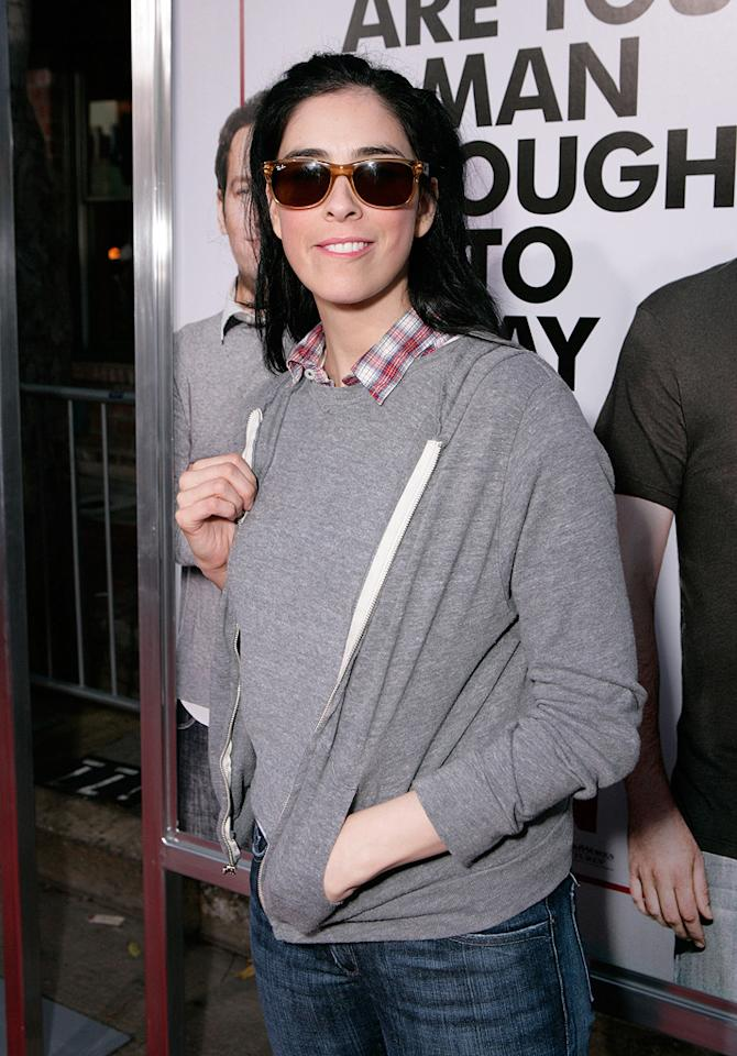 "<a href=""http://movies.yahoo.com/movie/contributor/1800359449"">Sarah Silverman</a> at the Los Angeles premiere of <a href=""http://movies.yahoo.com/movie/1810022085/info"">I Love You, Man</a> - 03/17/2009"