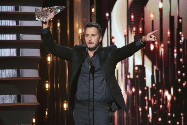 PHOTO: Luke Bryan wins Entertainer of the Year at the 49th annual CMA Awards at the Bridgestone Arena in this Nov. 4, 2015 file photo in Nashville, Tenn. (Taylor Hill/Getty Images, FILE)
