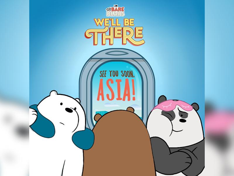 Ice Bear, Grizzly and Panda are gearing up for their first visit to Asia.