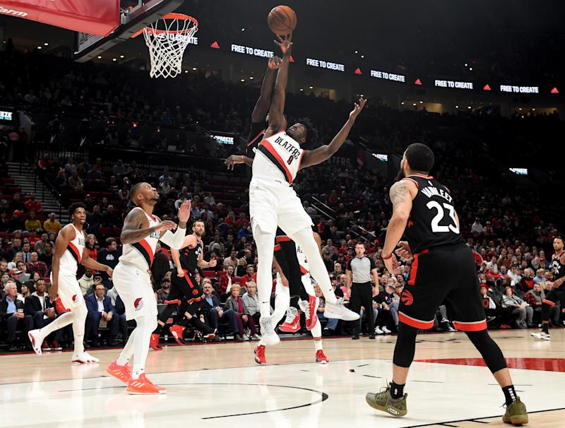 Nassir Little proud of his first start... but with no Zach Collins there's work to be done at the four