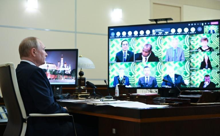 The virtual meeting brought together world leaders such as Russian President Vladimir Putin, Japanese Prime Minister Yoshihide Suga, Australia's Scott Morrison and Justin Trudeau of Canada