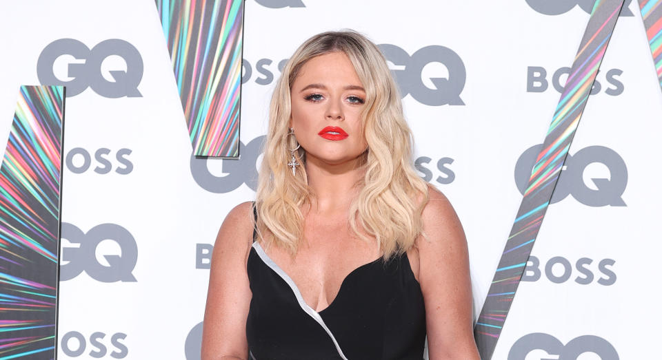 Emily Atack has opened up about how relationship status impacts the level of rape threats she receives online. (Getty Images)