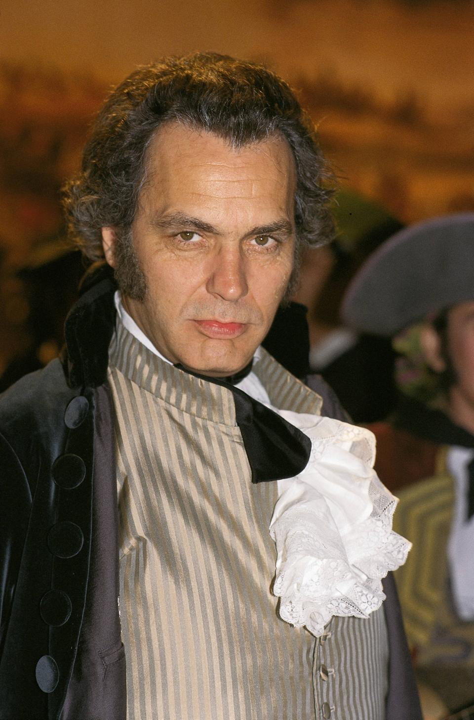 Jose Coronado at the shooting set of 'Goya in Bordeaux' The actor as the painter Francisco de Goya at the shooting set of Carlos Saura´s film  (Photo by Quim Llenas/Cover/Getty Images)