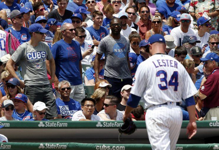 Cubs starter Jon Lester didn't even make it through the first inning Sunday. (AP Photo)