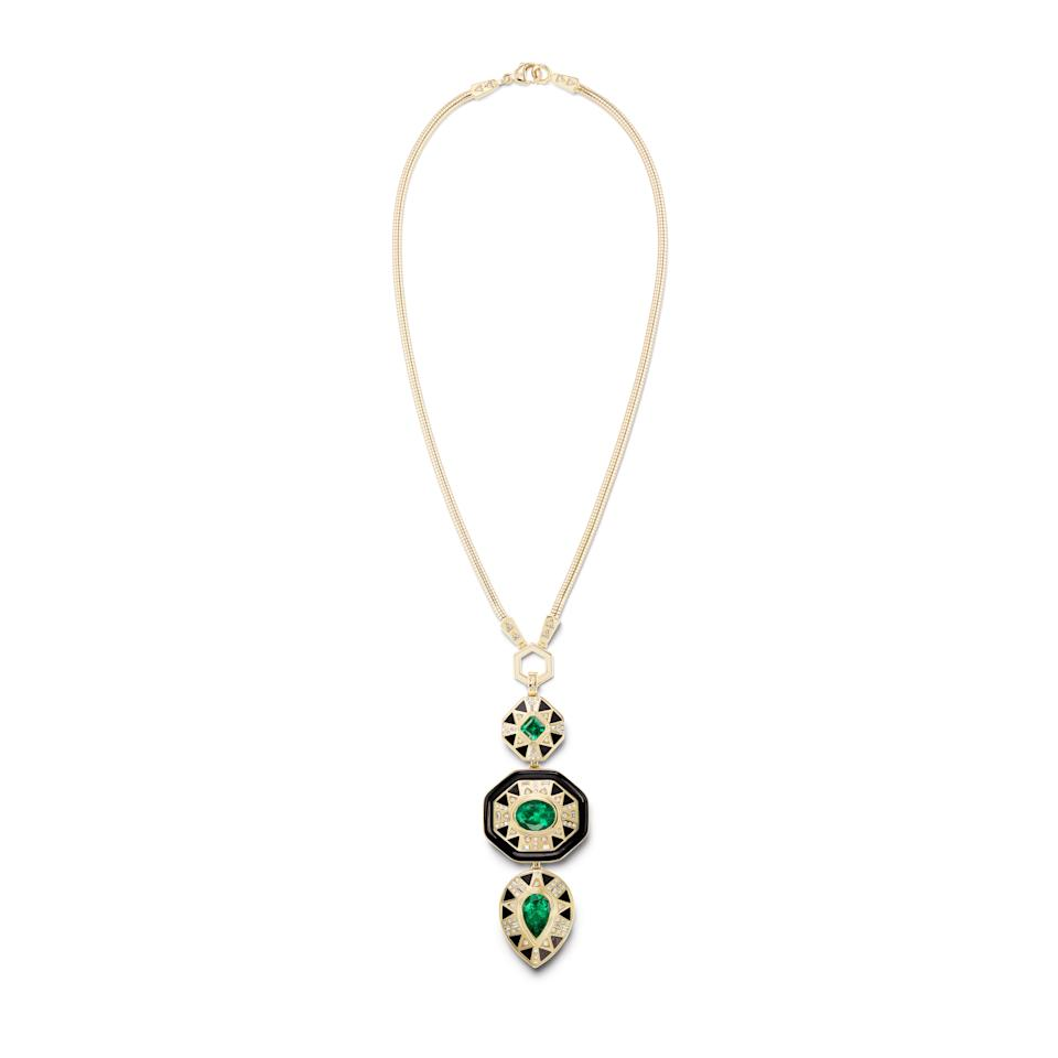 Harwell Godfrey's Cleopatra's Vault Pendant and Snake Foundation Chain