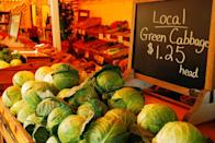 <p>Driving down country roads and finding a small roadside stand selling farm fresh veggies and fruits like this one in the Hamptons on New York's Long Island. </p>