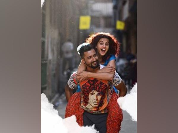 A still from 'Manmarziyaan' featuring Vicky Kaushal and Taapsee Pannu (Image courtesy: Instagram)
