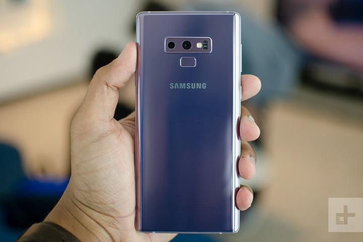 Galaxy Note 9 pink back