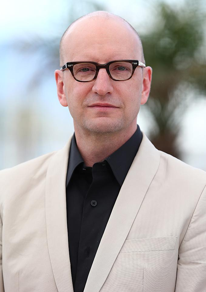 CANNES, FRANCE - MAY 21:  Director Steven Soderbergh attends the 'Behind The Candelabra' premiere during The 66th Annual Cannes Film Festival at Theatre Lumiere on May 21, 2013 in Cannes, France.  (Photo by Andreas Rentz/Getty Images)