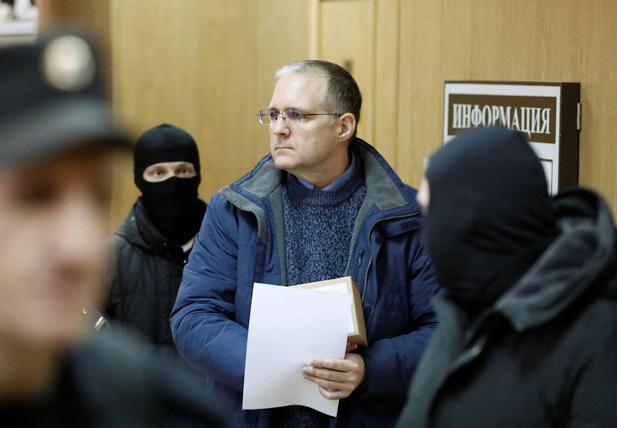 Paul Whelan after a ruling regarding extension of his detention. (Photo: Shamil Zhumatov/Reuters)