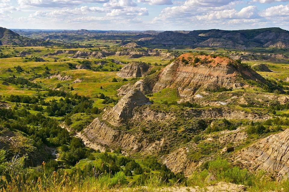 The Badlands of Theodore Roosevelt National Park