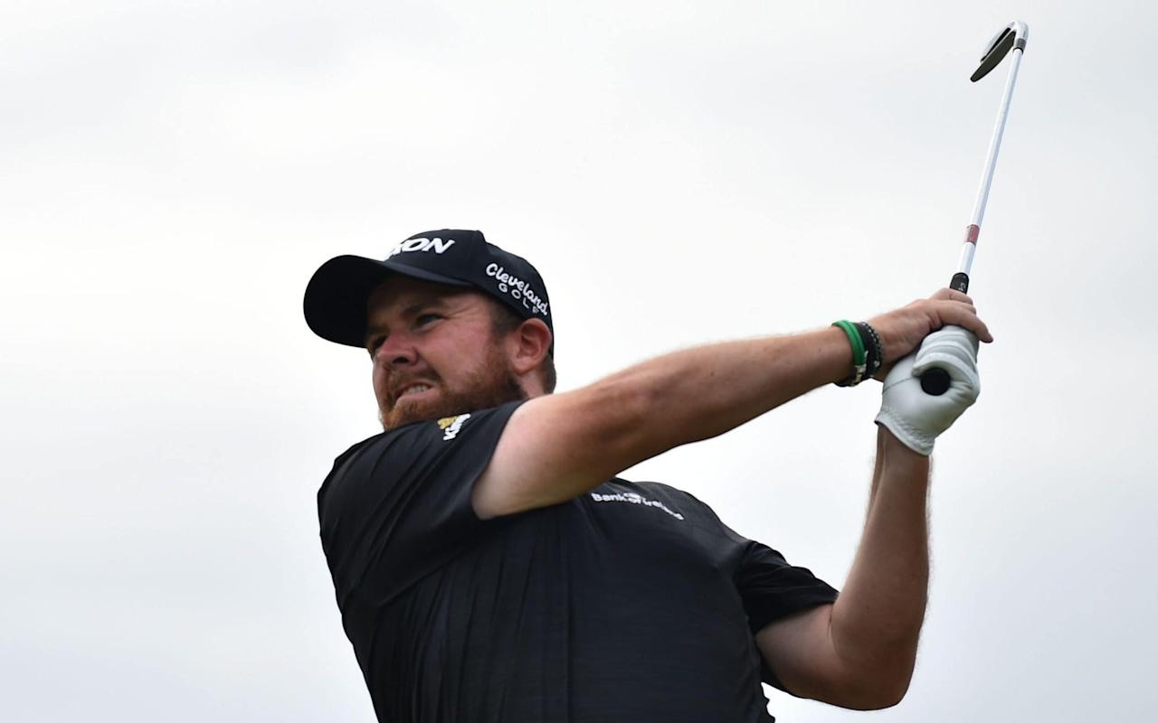 Shane Lowry has a two-stroke lead going into the final round of the 2019 Open at Royal Portrush - AFP