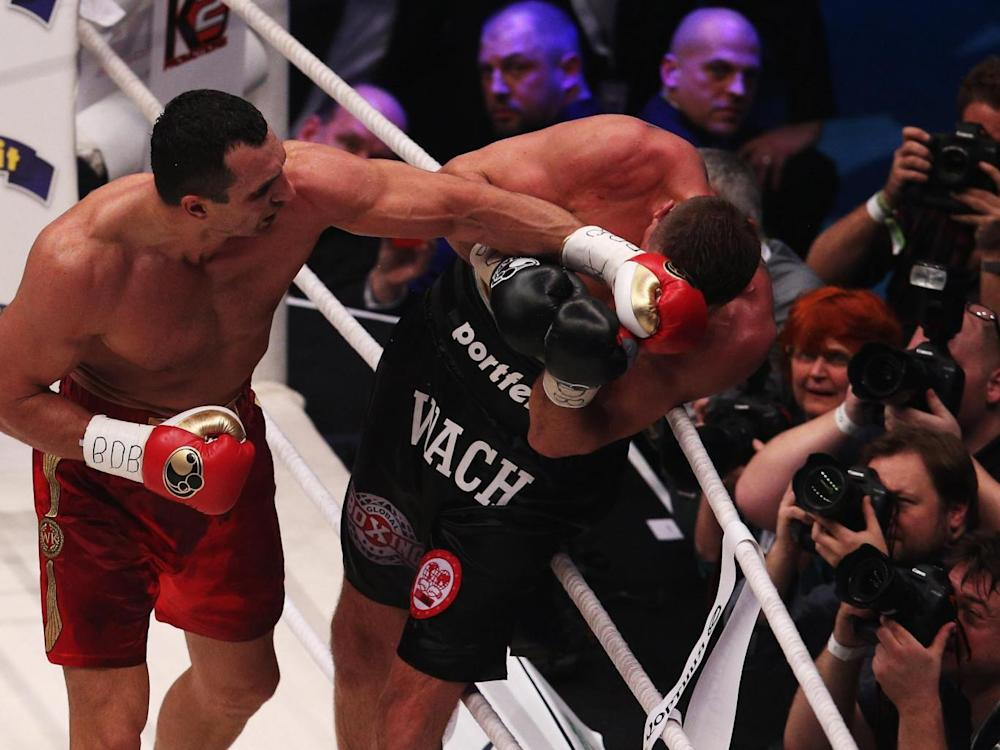 Klitschko roughed Wach up for a full 12 rounds (Getty )