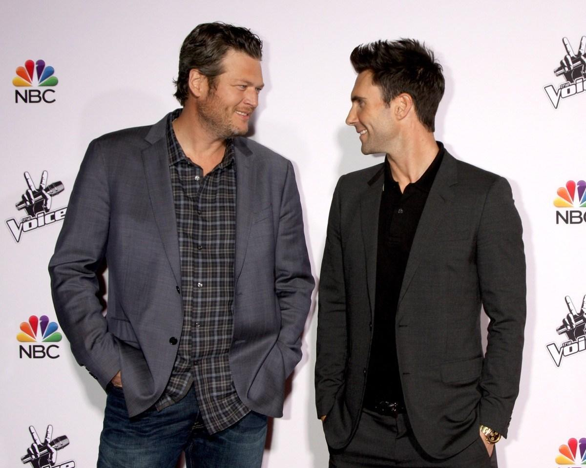 "There are few rivalries as hilarious as the one between <i>The Voice</i> coaches <strong>Adam Levine </strong>and <a rel=""nofollow"" href=""https://bestlifeonline.com/celebrity-from-every-state/?utm_source=yahoo-news&utm_medium=feed&utm_campaign=yahoo-feed""><strong>Blake Shelton</strong></a>. And with any friendly competition comes a lot of fun pranks. When Levine won <i>People's</i> ""Sexiest Man Alive"" title in 2014, he told <a rel=""nofollow"" href=""https://www.youtube.com/watch?v=FewmUt-qy-s""><i>Jimmy Kimmel Live</i></a> that he framed a huge version of the cover and <a rel=""nofollow"" href=""https://people.com/celebrity/adam-levine-sends-blake-shelton-a-towering-copy-of-his-sexiest-man-alive-cover-video/"">sent it to Shelton</a>. But this prank seemed to work in Shelton's favor because he won the title himself a few years later!"