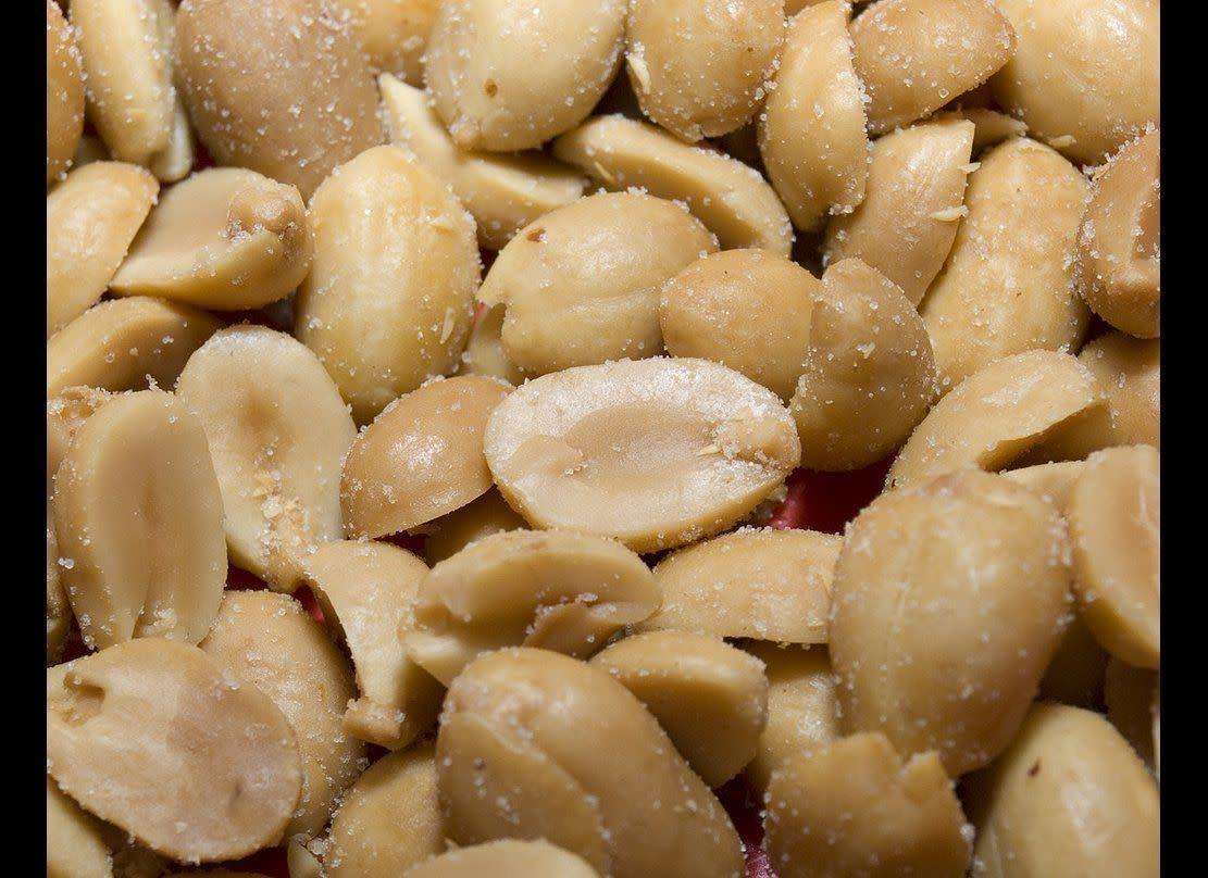 """In 2006, a 52-year-old man from Illinois sued Kraft Foods for $55,000 to compensate for the physical and emotional distress he suffered after allegedly biting into <span>a """"non-human animal tooth"""" in a container of Planter's Peanuts</span>."""