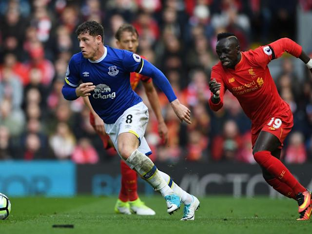 Barkley could have been sent-off as he made a number of poor tackles (Getty)