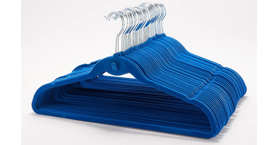 ClutterFree Set of 50 Universal Hangers (Photo: QVC)