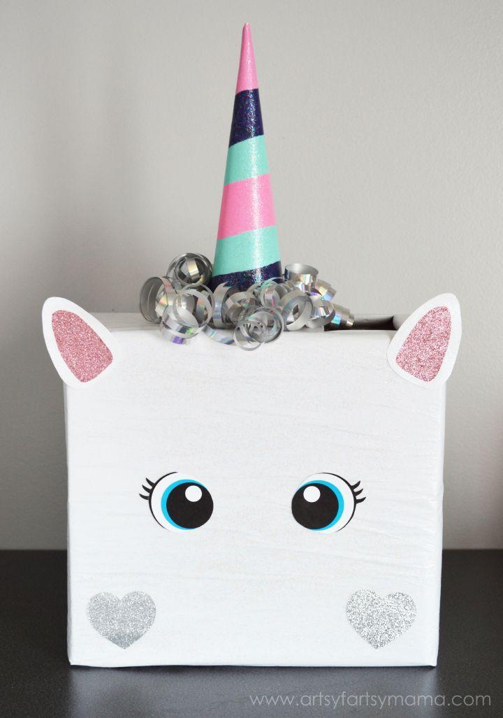 "<p>Or, keep it simple with this easy (and equally cute) unicorn Valentine box.</p><p><strong>Get the tutorial at <a href=""https://www.artsyfartsymama.com/2015/02/unicorn-valentine-card-box.html?"" rel=""nofollow noopener"" target=""_blank"" data-ylk=""slk:Artsy Fartsy Mama"" class=""link rapid-noclick-resp"">Artsy Fartsy Mama</a>.</strong></p><p><strong><strong><a class=""link rapid-noclick-resp"" href=""https://www.amazon.com/Mod-Podge-CS11302-Original-16-Ounce/dp/B001IKES5O?tag=syn-yahoo-20&ascsubtag=%5Bartid%7C10050.g.25844424%5Bsrc%7Cyahoo-us"" rel=""nofollow noopener"" target=""_blank"" data-ylk=""slk:SHOP MOD PODGE"">SHOP MOD PODGE</a></strong><br></strong></p>"