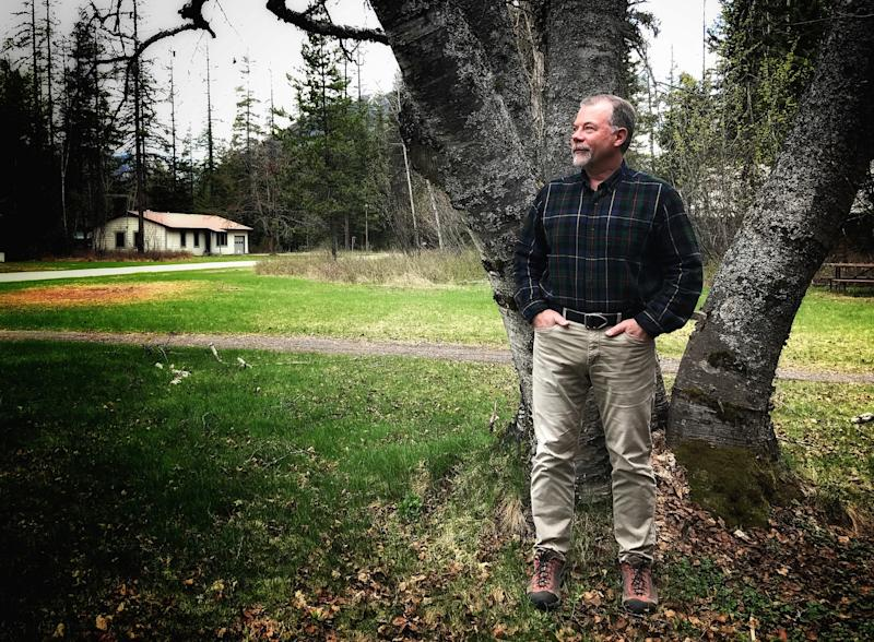 Dan Fagre, a research ecologist with the U.S. Geological Survey, studies climate change at Glacier National Park