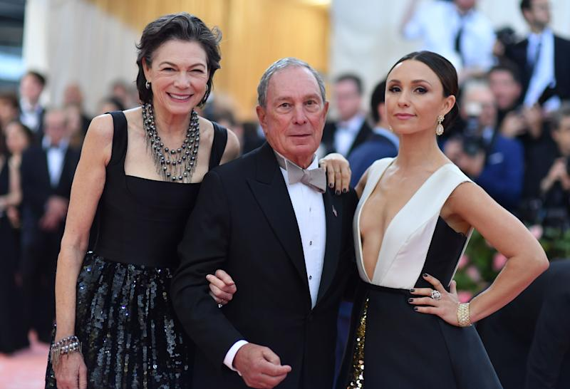 Billionaire former New York City Mayor Michael Bloomberg arrives for the 2019 Met Gala at the Metropolitan Museum of Art. (Photo: Angela Weiss/AFP/Getty Images)