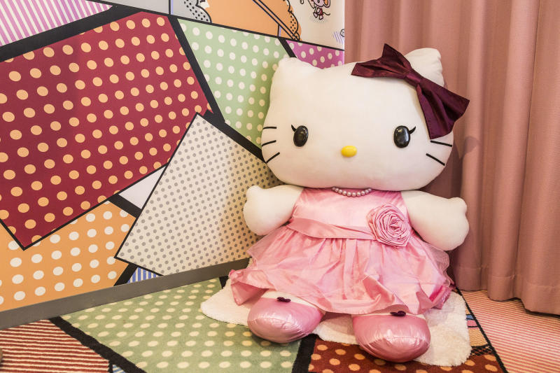 Keio Plaza Princess Kitty Room - here guests will find that