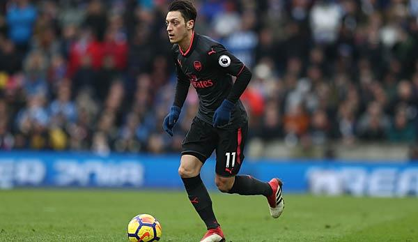 Premier League: Arsenal: Mesut Özil bricht Premier-League-Rekord von Eric Cantona