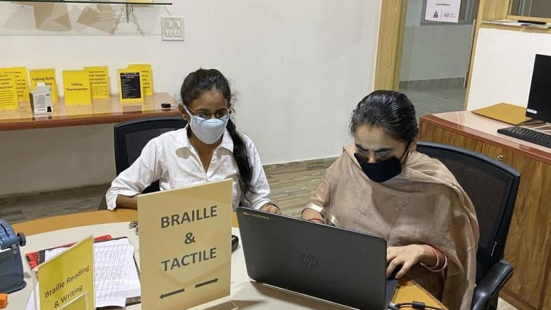 India's visually impaired population grapples with Covid-19 challenges