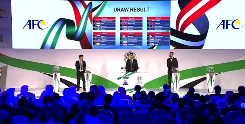 Asian Cup 2019 Draw | Date, format, qualified teams and their rankings