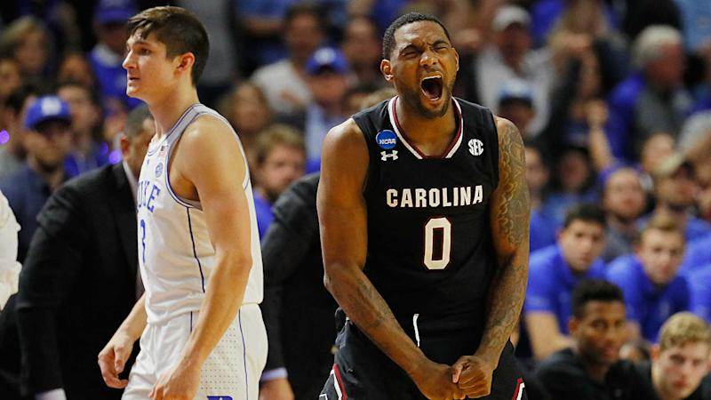March Madness 2017: South Carolina's magic ride continues with blowout win over Baylor.