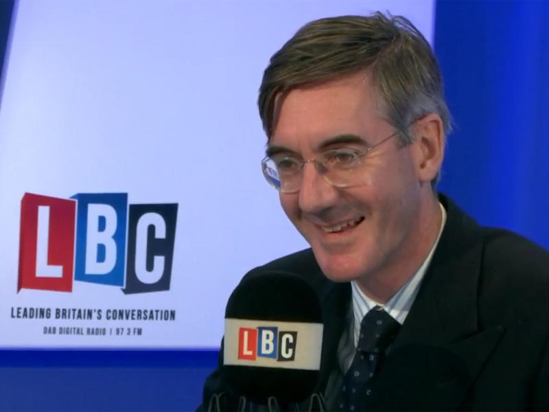 Jacob Rees-Mogg referred to the post-Brexit proposals put forward by Theresa May, which would potentially deliver a soft Brexit, as 'completely cretinous'