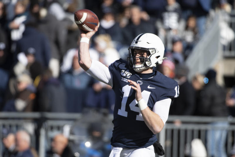 Clifford sends No. 9 Penn State past No. 24 Indiana 34-27